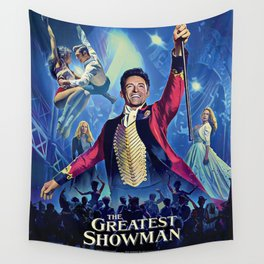 The Greatest Showman Poster Wall Tapestry