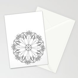 Flower Lace Stationery Cards