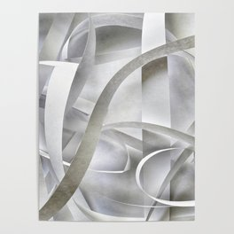 Paper pattern Poster