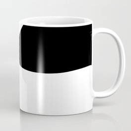 Abstract Plughole Coffee Mug