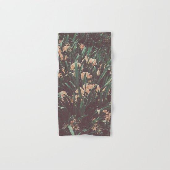 Jungle Blooms Hand & Bath Towel