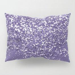 Sparkling ULTRA VIOLET Lady Glitter #1 #shiny #decor #art #society6 Pillow Sham