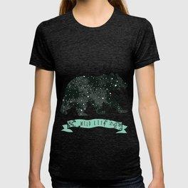 Vintage label bear. Design for T-Shirt. Нandmade illustration  sketch bear. T-shirt