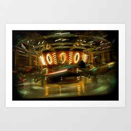 Time Travel Art Print