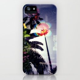 Urban double exposure iPhone Case