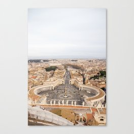 Egeria Canvas Print