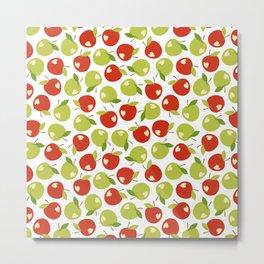 Bitten apples Metal Print