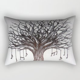 Live music Rectangular Pillow