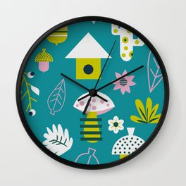 Spring games Wall Clock