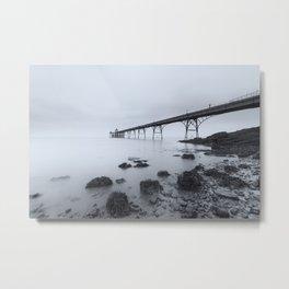 1046257 Clevedon Pier Metal Print