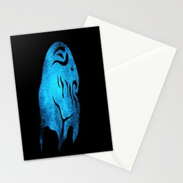 Deep one Blue Stationery Cards