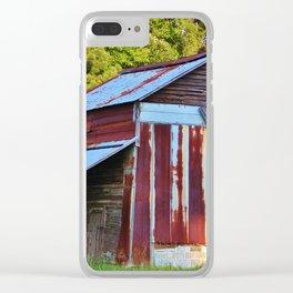 Tobacco Barn Clear iPhone Case