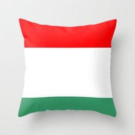 flag of hungary  3 -hungary, hungarian, magyar,Magyarország, hungria,Budapest Throw Pillow