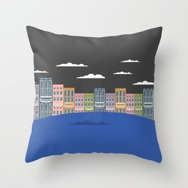One Lone Cloud Throw Pillow