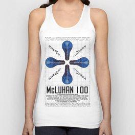 McLuhan 100  Unisex Tank Top