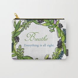Message Wreath Carry-All Pouch