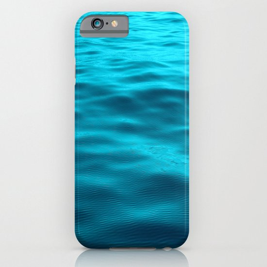 Water : Teal Tranquility iPhone & iPod Case