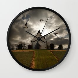 The Church in the Field Wall Clock