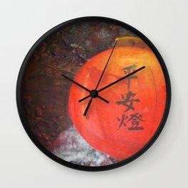 Chinese Lantern Wall Clock