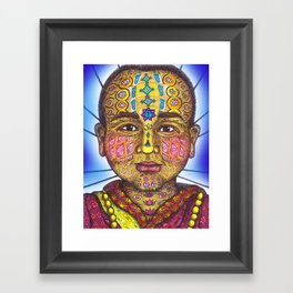 Wisdom Keeper Color #51 (Awakening) Framed Art Print