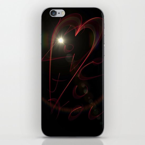 Love To You iPhone & iPod Skin
