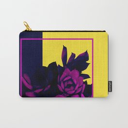 Neon Succulents #society6 #succulent Carry-All Pouch