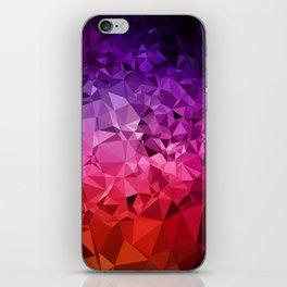 Ultra Violet Diamond Rainbow iPhone Skin