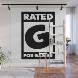 Rated G for gamer Wall Mural