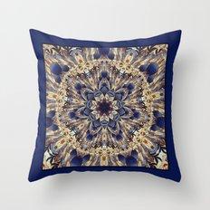Morris Tapestry Mandala Throw Pillow