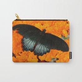 Butterflies love Marigolds Carry-All Pouch