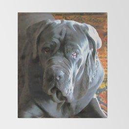 My dog Ovelix! Throw Blanket