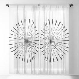 Sunburst Sheer Curtain