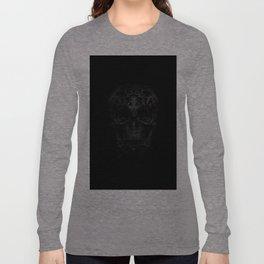 Skulls Black Long Sleeve T-shirt