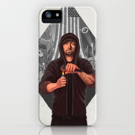 The Show (GREY) iPhone Case