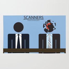 Scanners - Altenative Movie Poster Rug