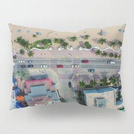 beach house street Pillow Sham