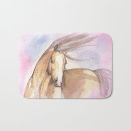Pink Pony Bath Mat