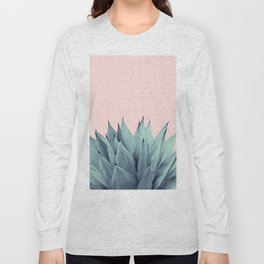 Agave Vibes #12 #tropical #decor #art #society6 Long Sleeve T-shirt