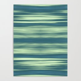 Abstraction Serenity in Afternoon at Sea Poster