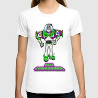 buzz lightyear T-shirts featuring Buzz Longgoner...  The spookier version of Pixar's Buzz Lightyear from Toy Story by beetoons