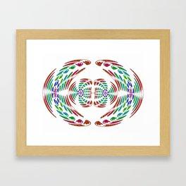 red wings Framed Art Print