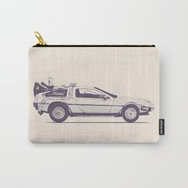 Famous Car #2 - Delorean Carry-All Pouch
