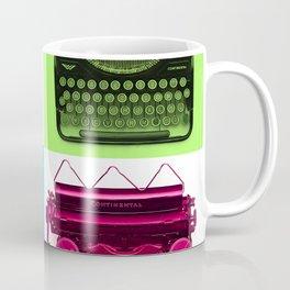 Typewriter Grid Coffee Mug