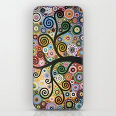 She Dreams In Color iPhone & iPod Skin