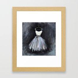 Ballerina Dress 2 - Painting Framed Art Print