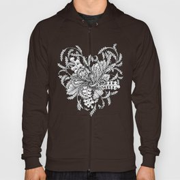 Blooming heart Hoody