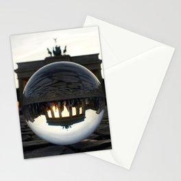 Brandenburg Gate, Berlin Germany / Glass Ball Photography Stationery Cards