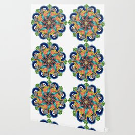 tropic crazyness mandala Wallpaper