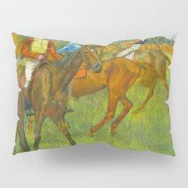 Before the Race - By Edgar Degas Pillow Sham