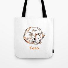 Tero Sleeping I Tote Bag
